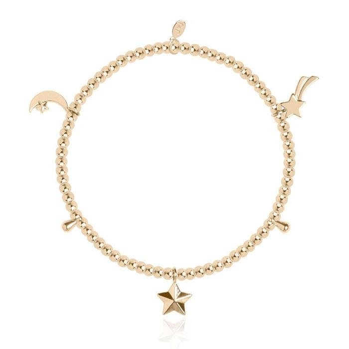 Amulet Star Gold Plated Bracelet