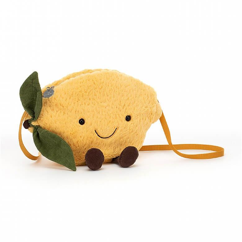 Amuseable Lemon Soft Toy Bag