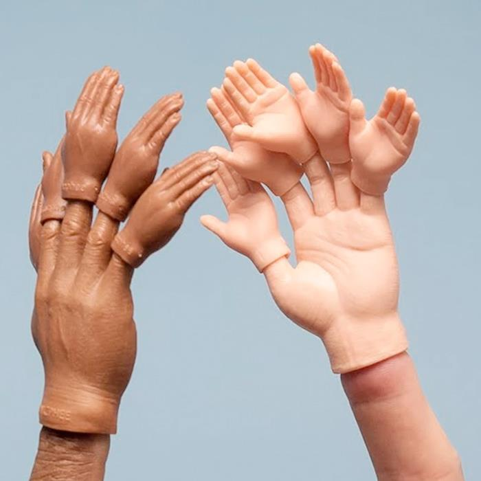 Mini Finger Hands - Set of 5