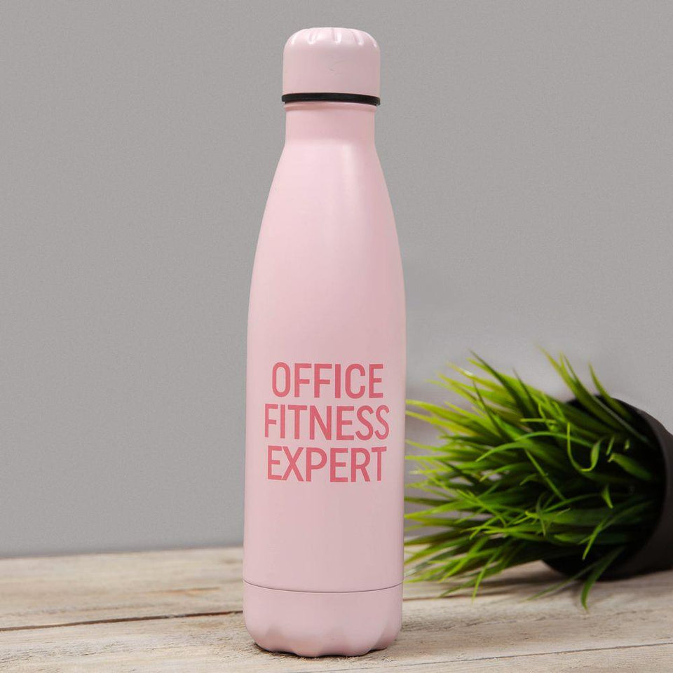 Office Fitness Expert The Office Aluminium Drinks Bottle