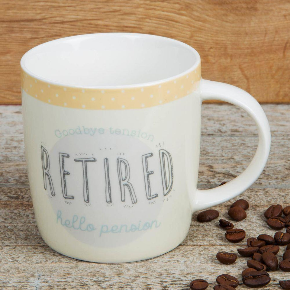 Retired Stoneware Mug