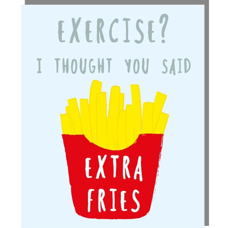 Extra Fries Card