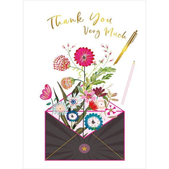 Thank You Letter Card