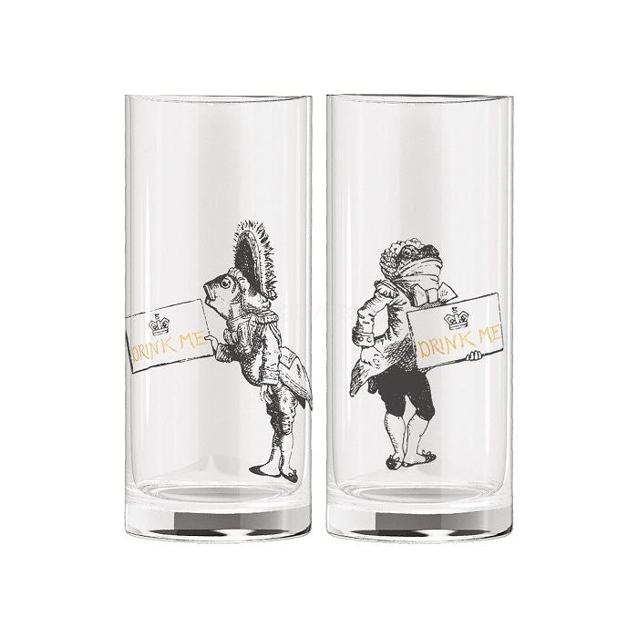 Alice in Wonderland Minature Glasses Set