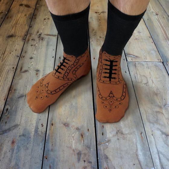 Brogue Men's Socks