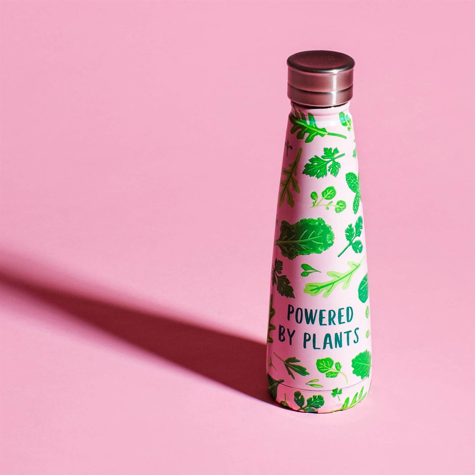 Powered by Plants Steel Water Bottle