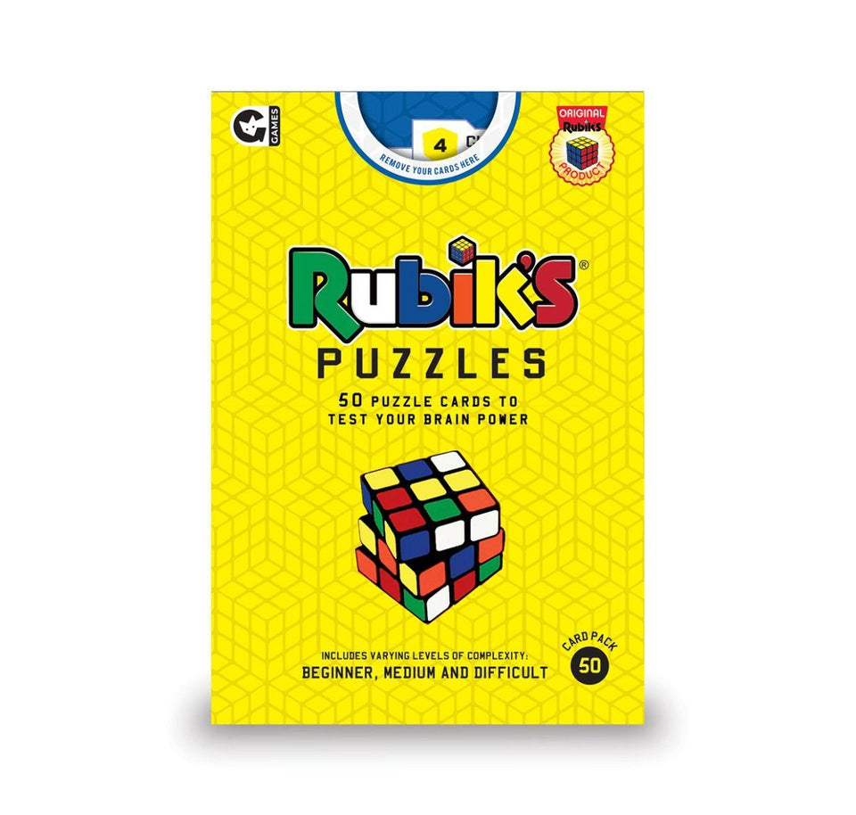 Rubiks Cube Card Game