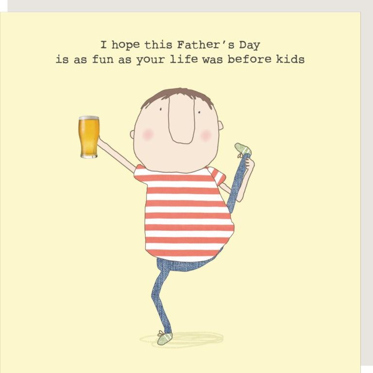 Life Before Kids Father's Day Card