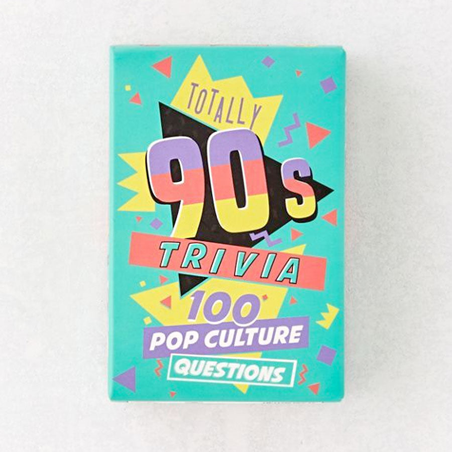 Totally 90s Trivia Cards