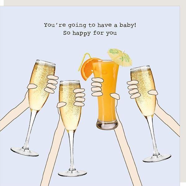 Cheers - Going To Have A Baby Card