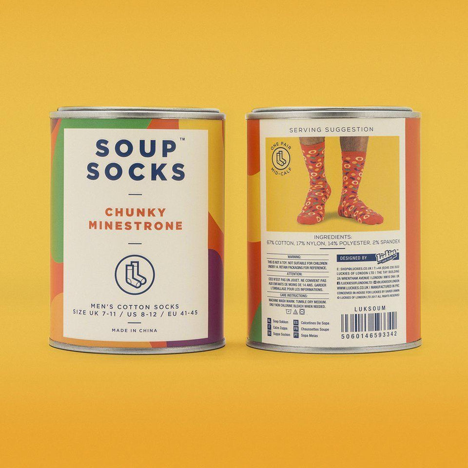 Soup Socks - Chunky Minestrone