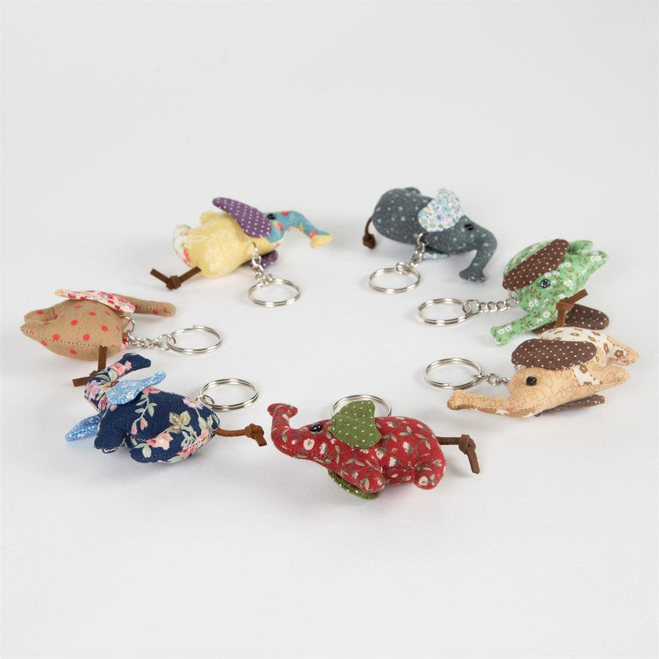 Mini Elephant Keyring
