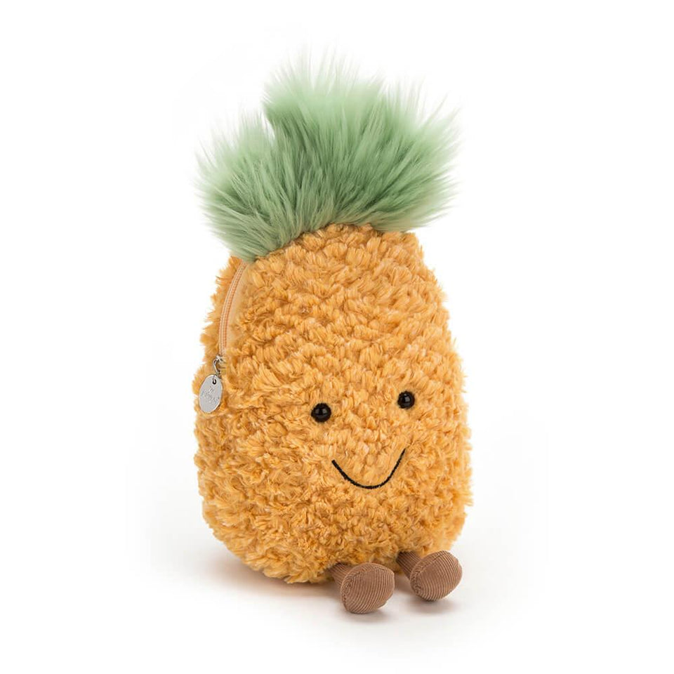 Amuseable Pineapple Small Plush Bag