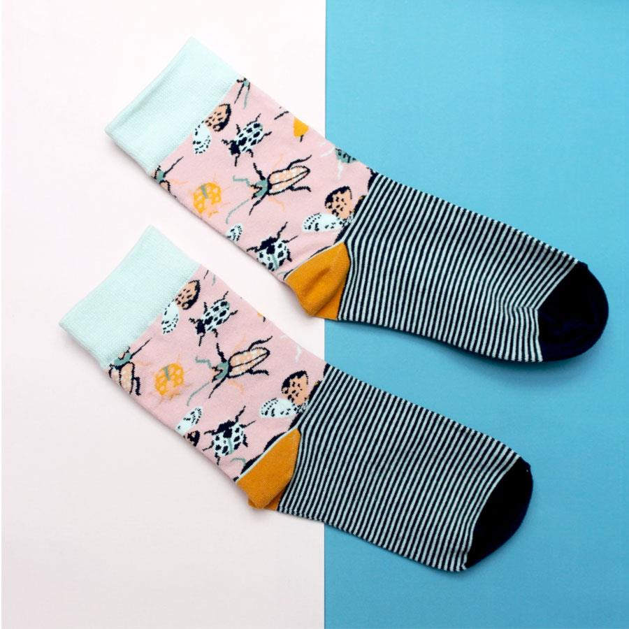 Eden Insect Socks in Gift Box