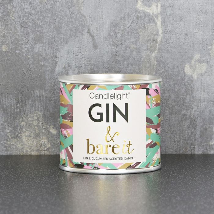 Gin & Bare It Ring Pull Candle