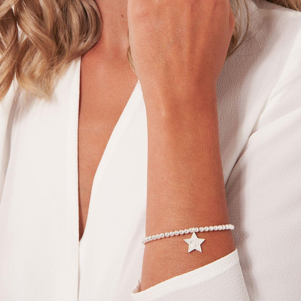 Fabulous Friend Star Charm Bracelet in Gift Box