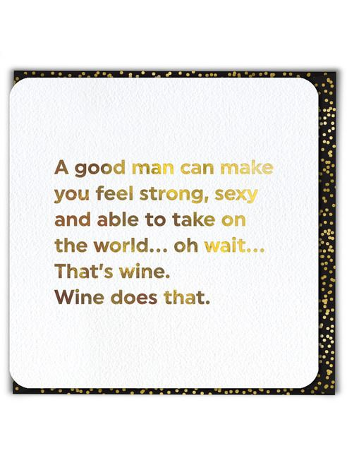 A Good Man Card