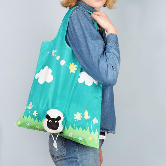 Sheep Foldable Shopping Bag