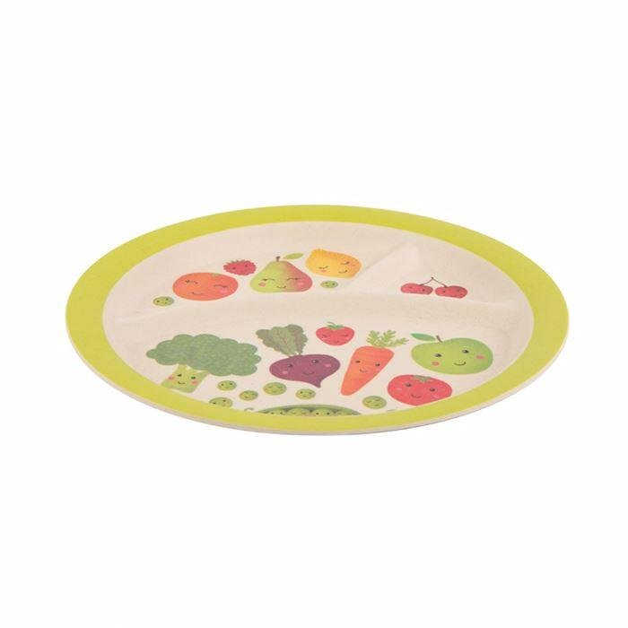 Happy Fruit & Veg Kid's Plate