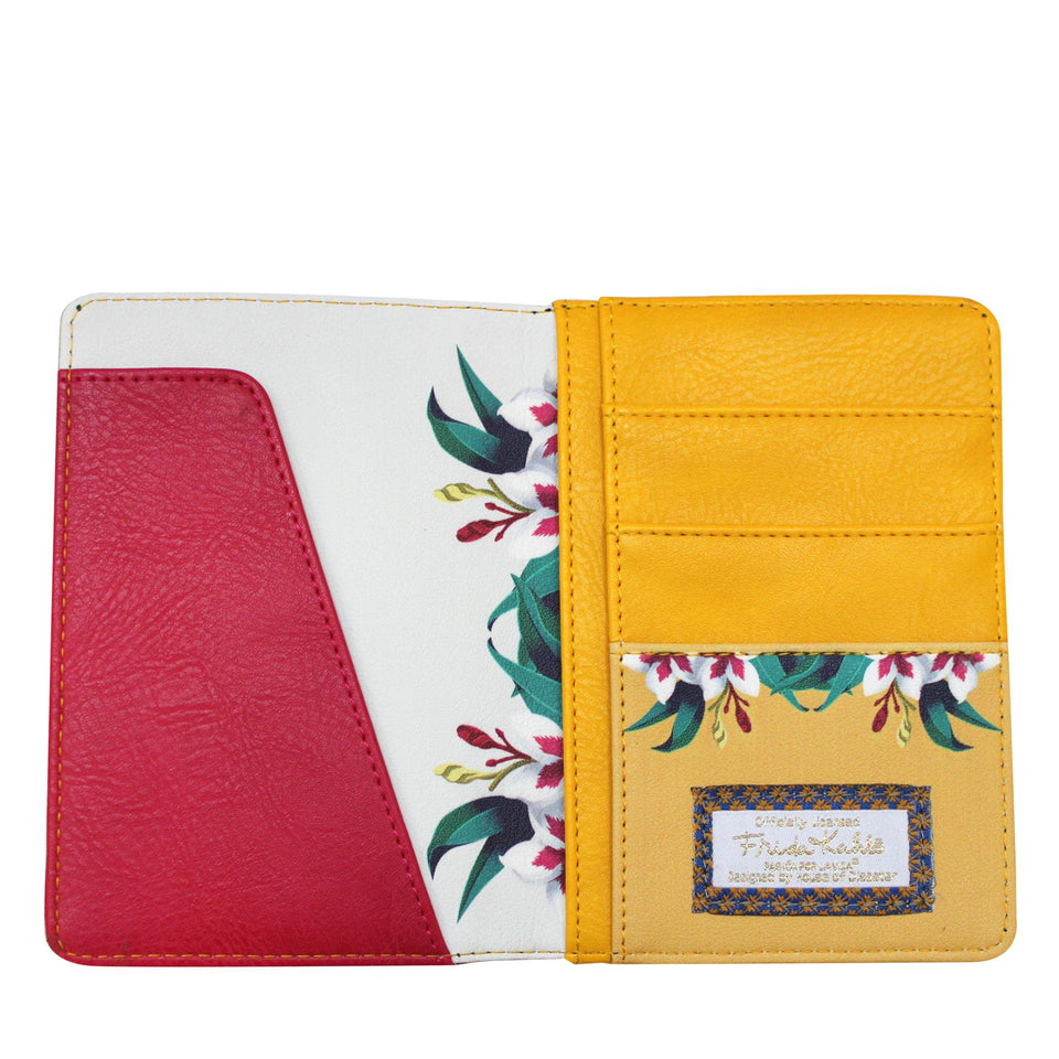 Frida Kahlo Passport Holder