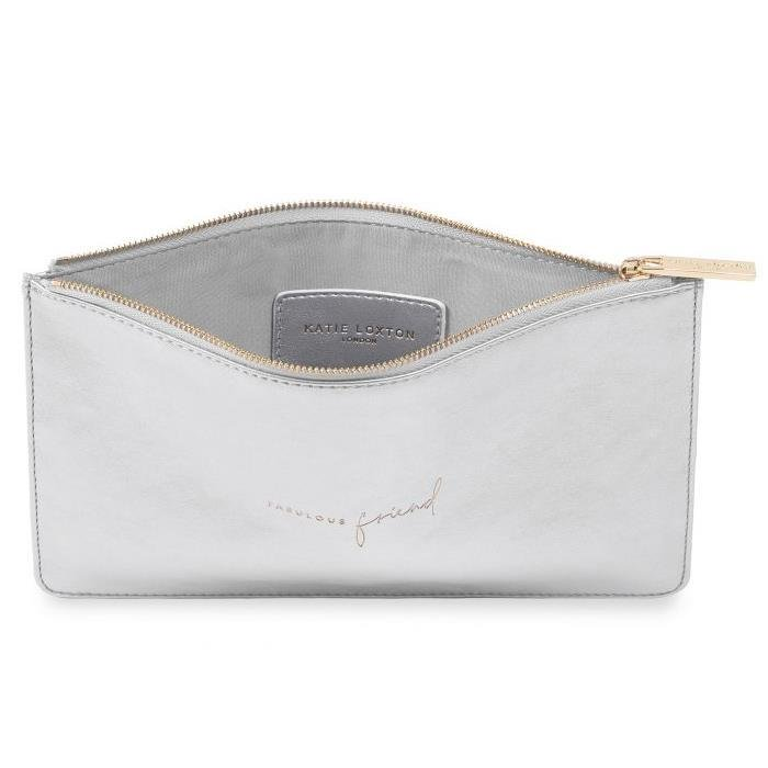 Fabulous Friend Silver Perfect Pouch