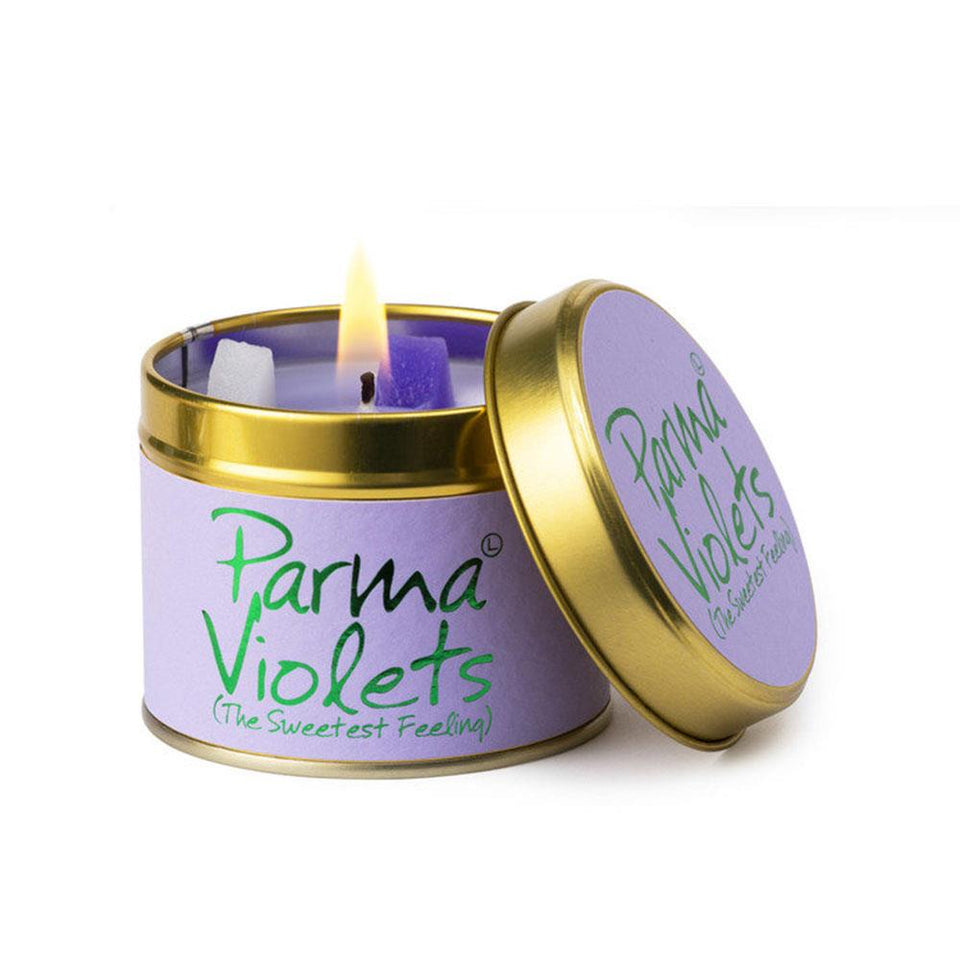 Parma Violets Candle Tin