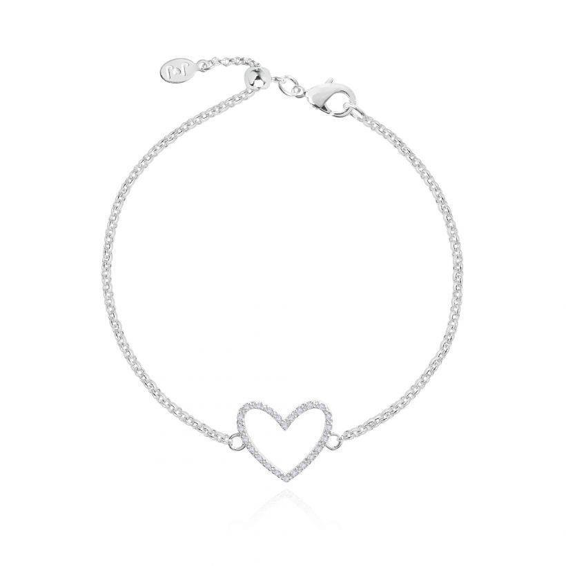 Evie Heart Adjustable Bracelet