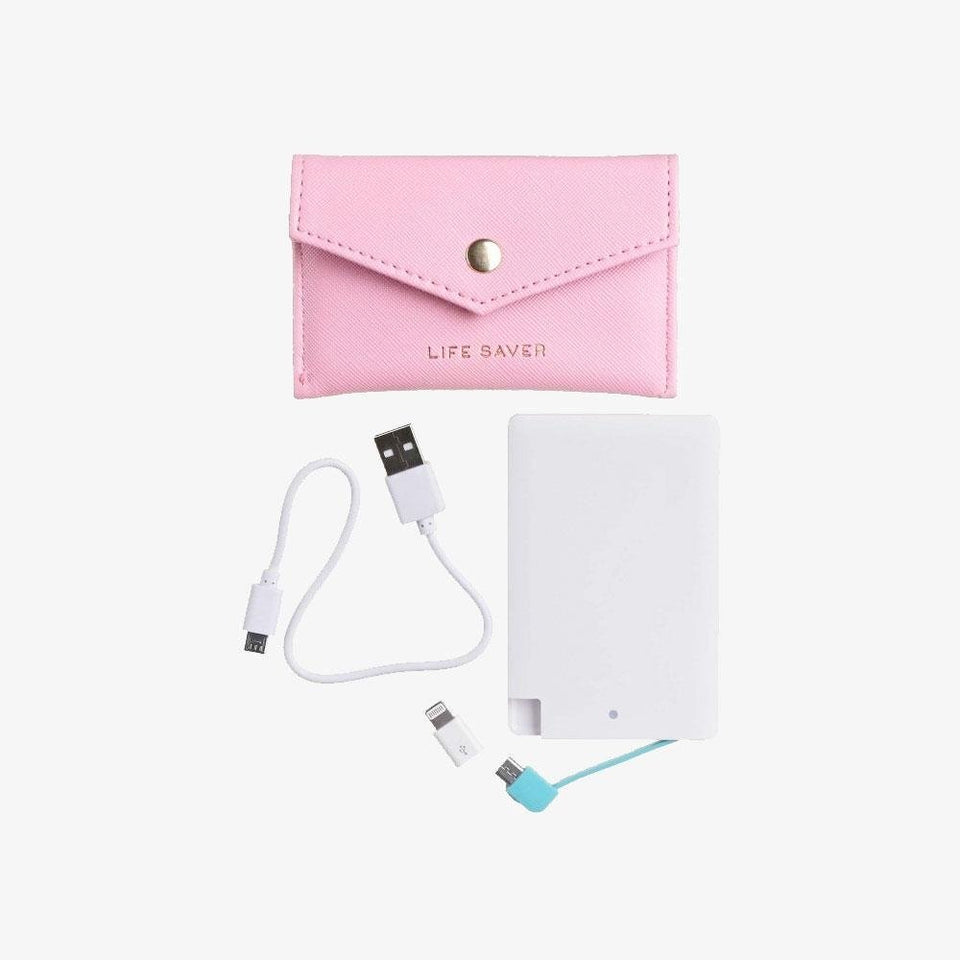 'Life Saver' Candy Pink Power Bank