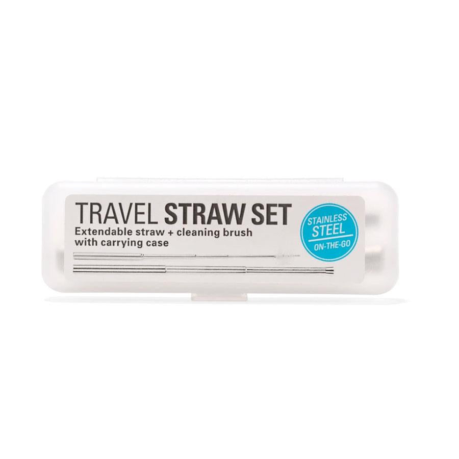Travel Drinking Straw Set