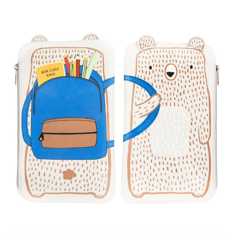 Bear Camp Pencil Case