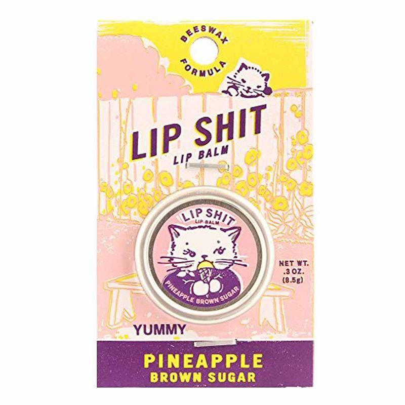 Lip Shit Lip Balm | Pineapple Brown Sugar