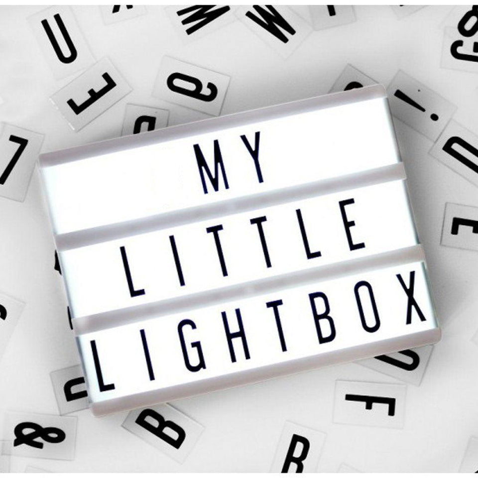 Small Cinema Light Box