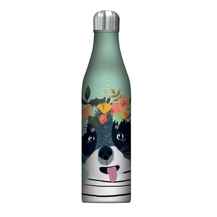 Floral Fancy Dog Vacuum Flask | Studio Oh