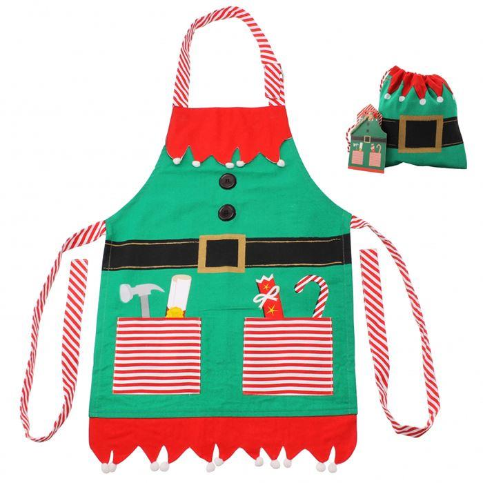 Santa's Little Helper Kids Apron