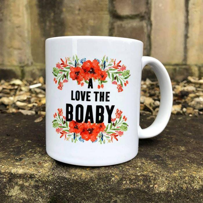 Floral Love The Boaby Mug