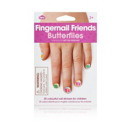Fingernail Friends | Butterflies