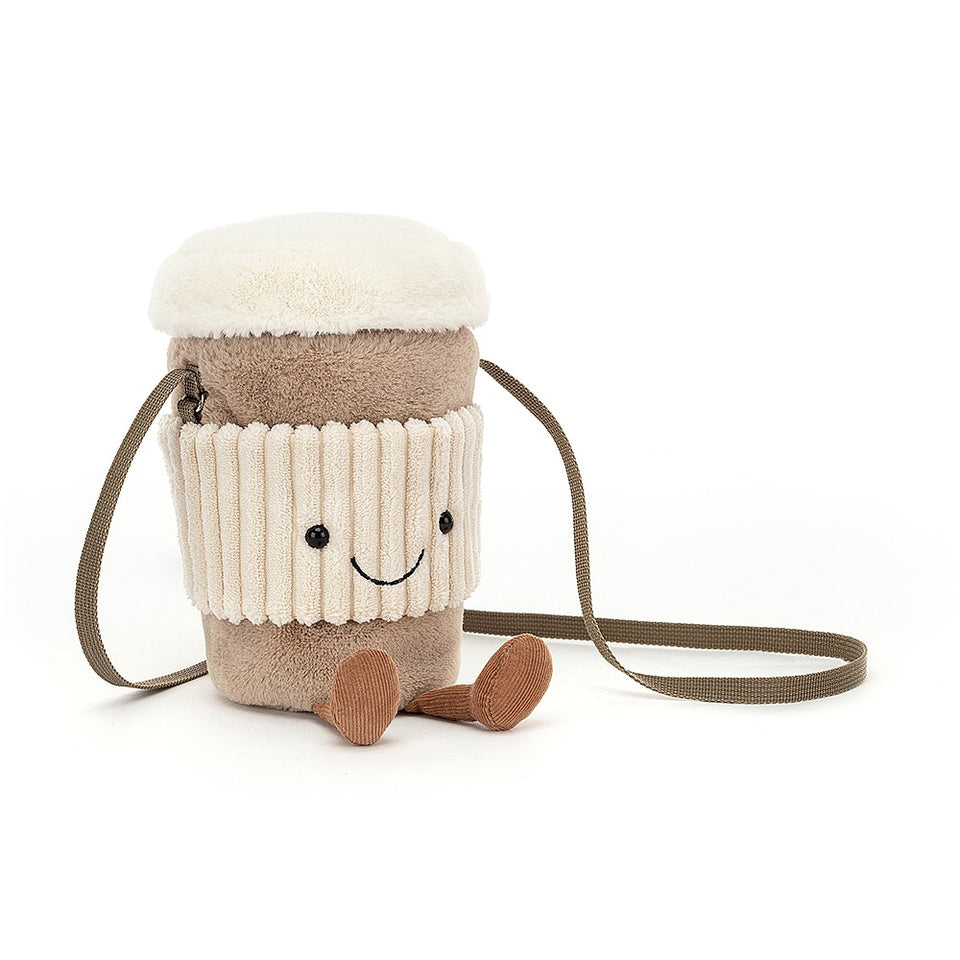 Amuseable Coffee-To-Go Bag Soft Toy