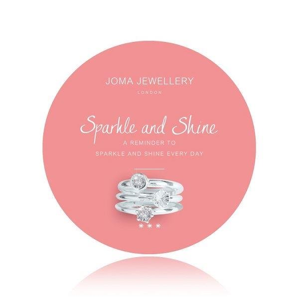 Summer Sparkle 'Sparkle & Shine' Ring Set