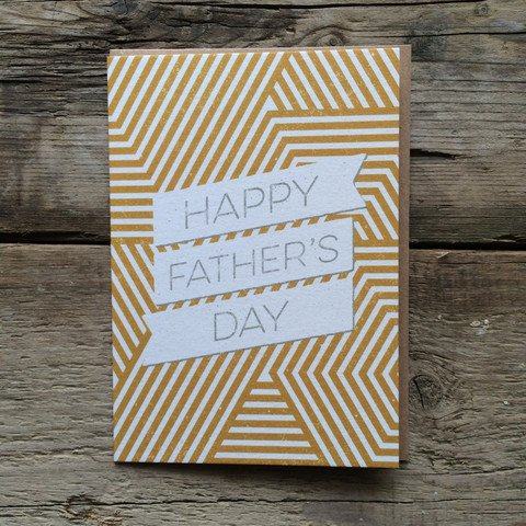 Father's Day Card | Geometric Graphic