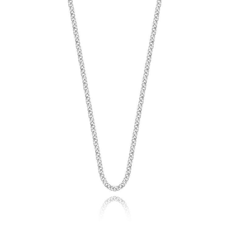 Silver Base Chain Necklace