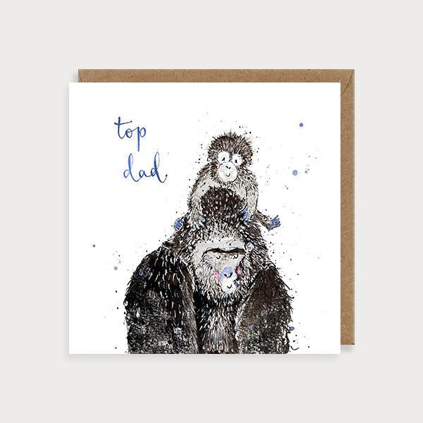 Gorillas Top Dad Card