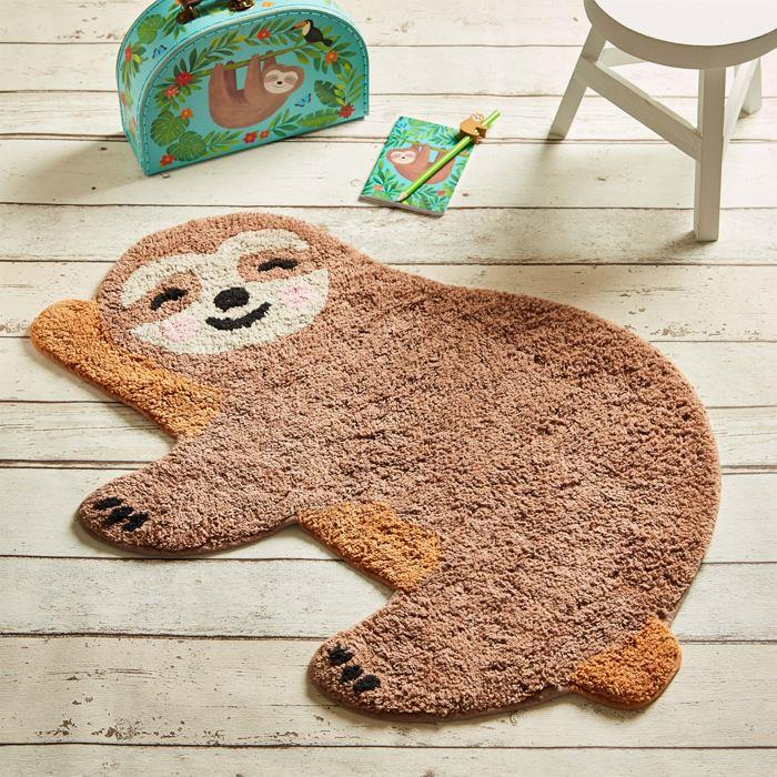 Happy Sloth Chill Zone Rug