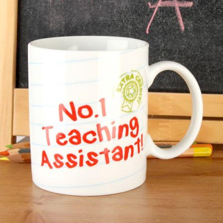 No 1 Teaching Assistant Celebration Mug