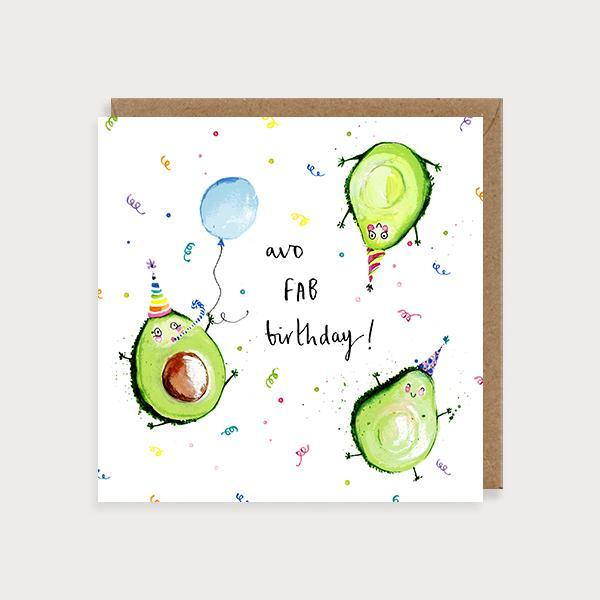 Avo Fab Birthday Card