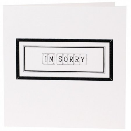 Sorry Card | Vintage Playing Cards