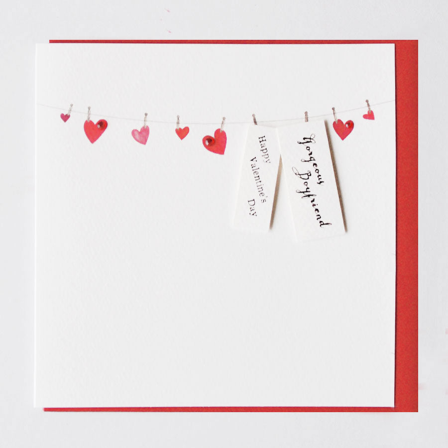 Gorgeous Boyfriend Valentine's Day Card