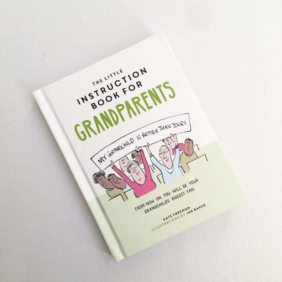 Little Instruction For Grandparents Book
