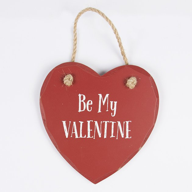 Be My Valentine | Heart Plaque