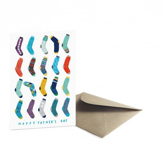Father's Day Card | Socks