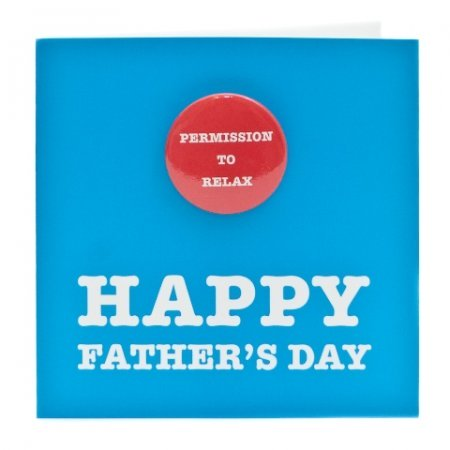 Happy Father's Day | Badge Card
